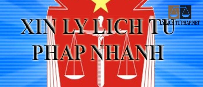 Dịch vụ làm lý lịch tư pháp tại Bình Phước