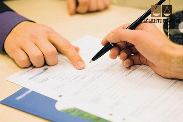 Dịch vụ làm lý lịch tư pháp tại Điện Biên