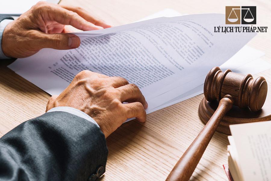 Khi nào cần lý lịch tư pháp?