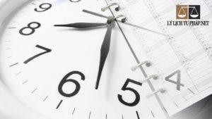 Làm lý lịch tư pháp mất bao lâu?