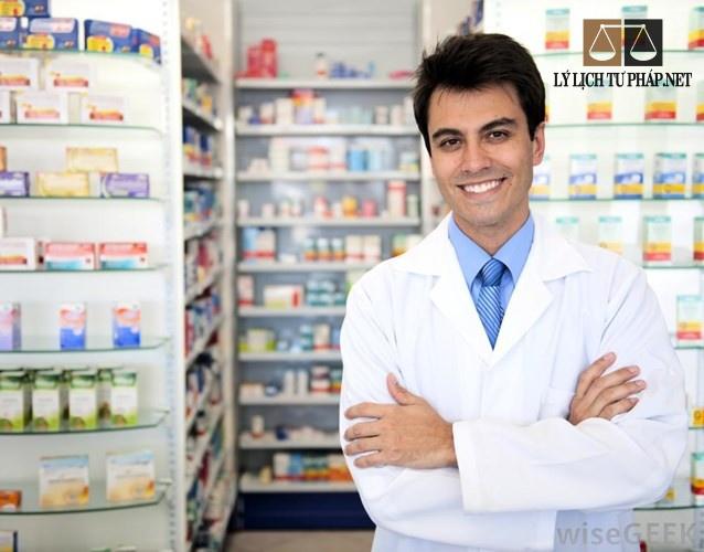 Lý lịch tư pháp chứng chỉ hành nghề dược
