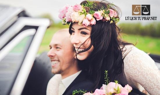 Lý lịch tư pháp kết hôn với người nước ngoài